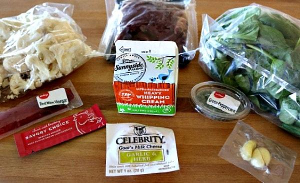 Sirloin Beef Meal Kit Ingredients
