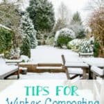 Tips for Winter Composting - How to keep your compost pile active during the winter months.