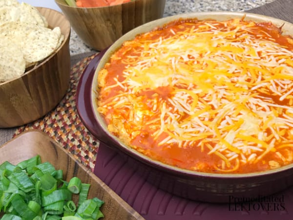 baked buffalo chicken dip dish appetizer