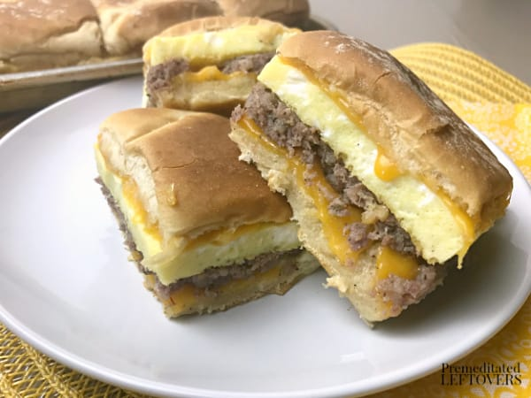 how to make breakfast sandwiches