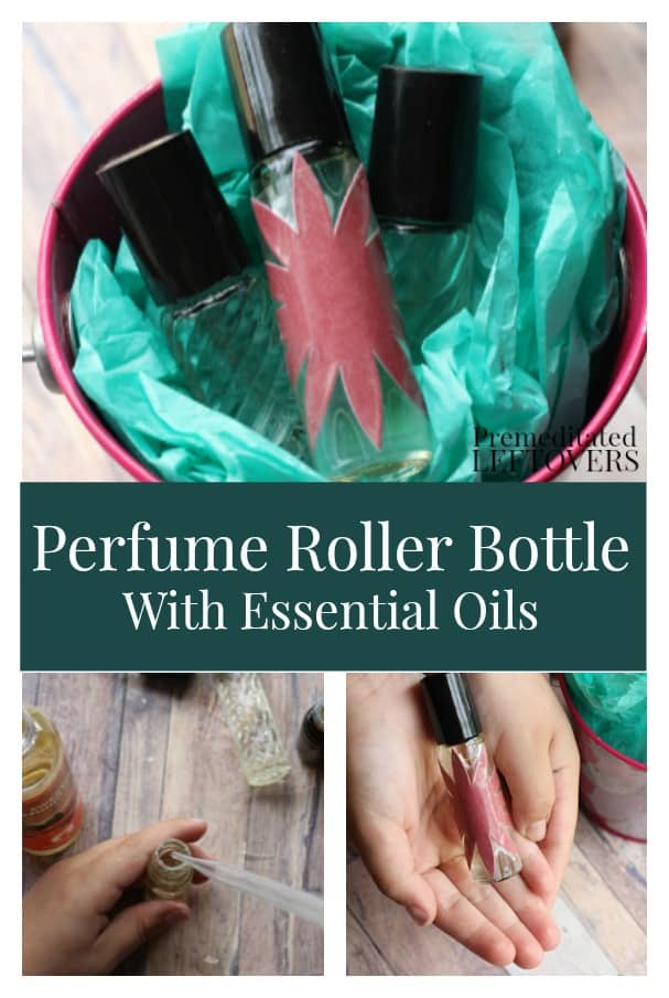 These DIY Perfume Roller Bottles With Essential Oils are safe and fun for kids to make for a thoughtful gift. Essential oil blend suggestions included.