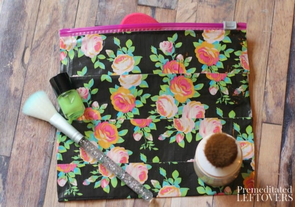 gifts kids can make diy duct tape makeup bag