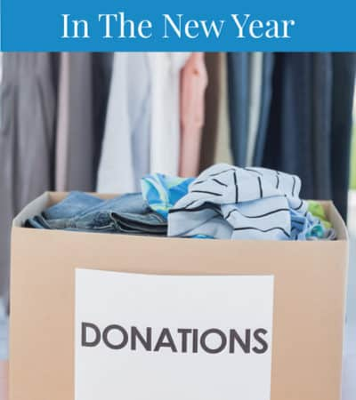 tips to declutter for the new year