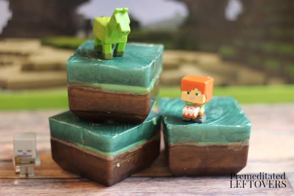 how to make your own minecraft soap bars
