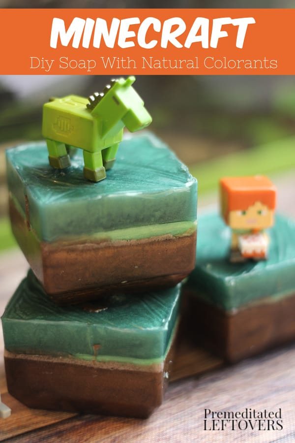 how to make diy minecraft soap