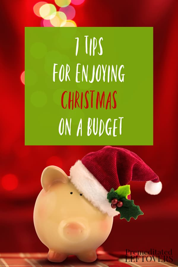 The holidays can be overwhelming between the busyness and money. These 7 Tips For Enjoying Christmas on a Budget can take off some of the worry.