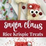 Santa Claus Rice Krispie Treats recipe and directions