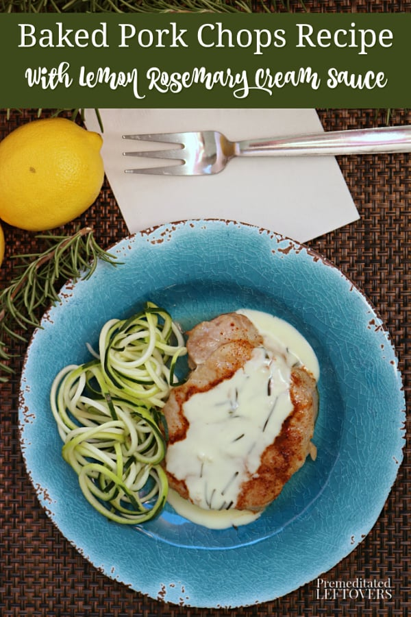 baked pork chop recipe