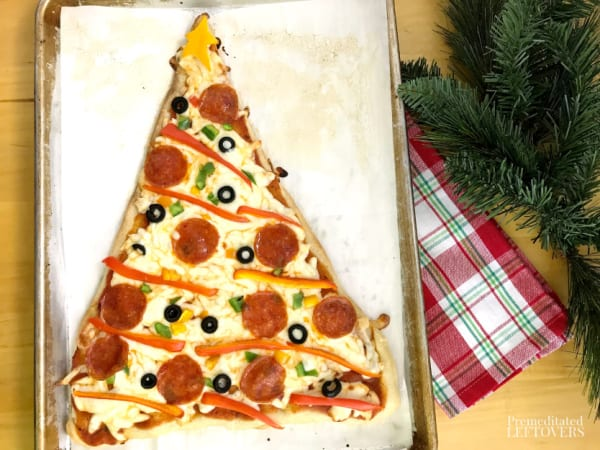 pizza recipe for christmas