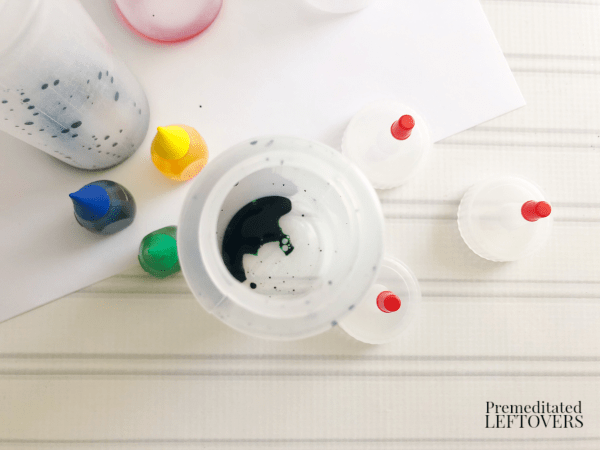 how to make your own snow paint