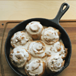 pecan spiced cinnamon rolls recipe