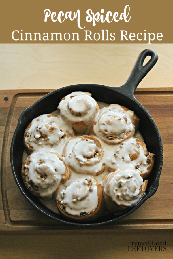 pecan spiced cinnamon roll recipe