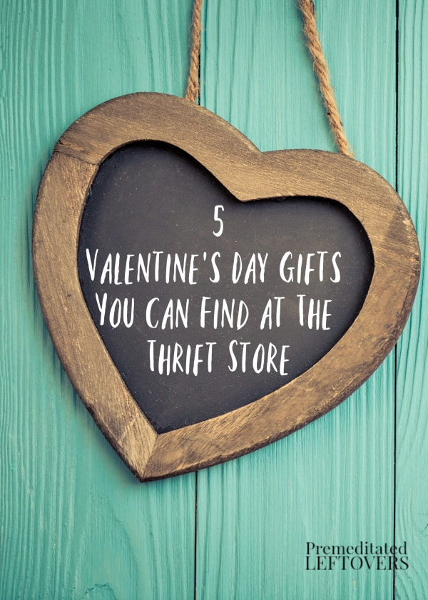 Keep under budget while showing your loved one how much you care with these 5 Valentine's Day Gifts You Can Find at The Thrift Store. Upcycle and give these items some sparkle and a new lease on life!
