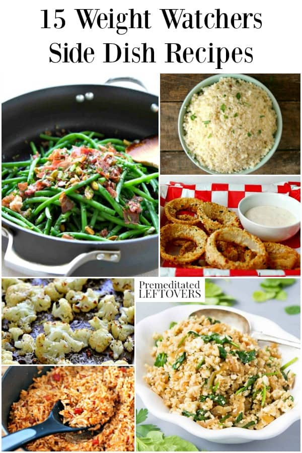 Weight Watchers side dishes with Freestyle points