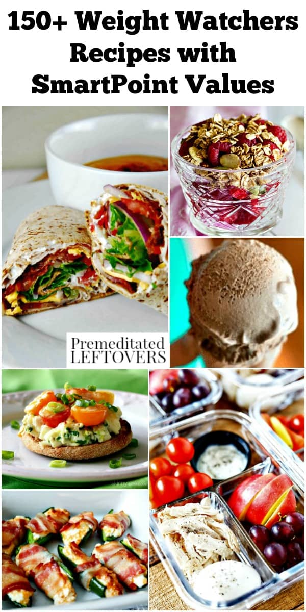 150 Weight Watchers Recipes - Delicious WW Freestyle Recipes with Smart Points for every meal!