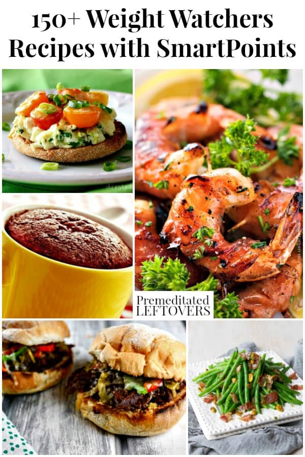 150 Weight Watchers Recipes with SmartPoint Values for the WW Freestyle Plan