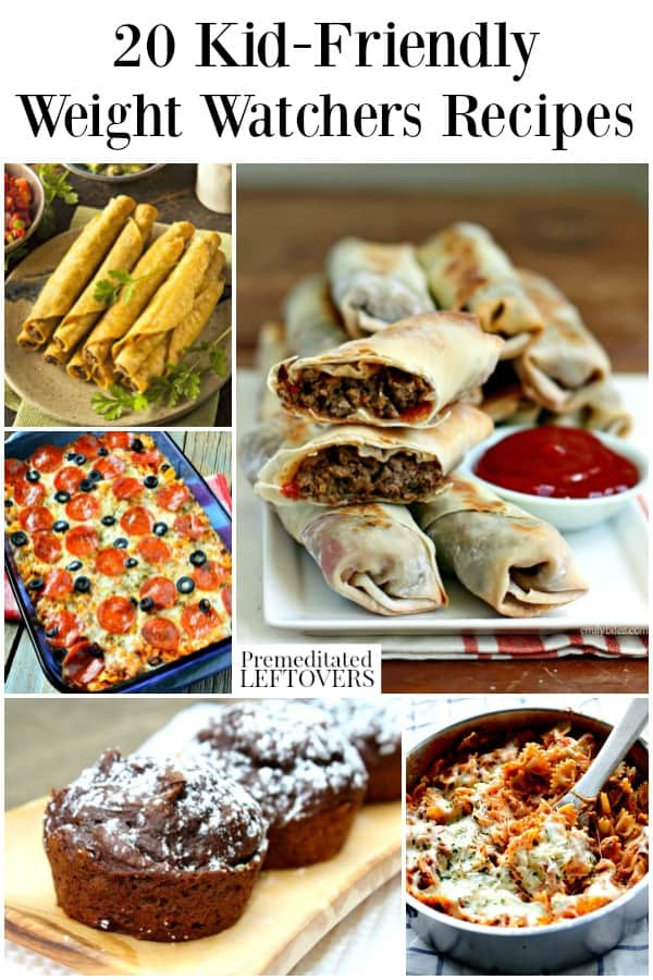 Kid-Friendly Weight Watchers Recipes