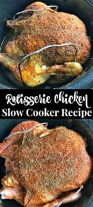 Crock-Pot Rotisserie Chicken Recipe