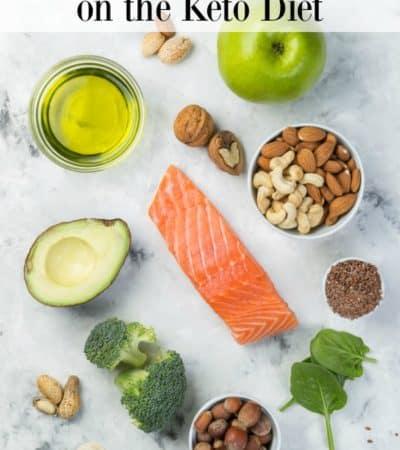 Dairy-free keto diet foods