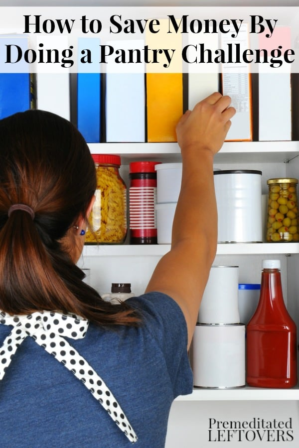 How to do a pantry challenge
