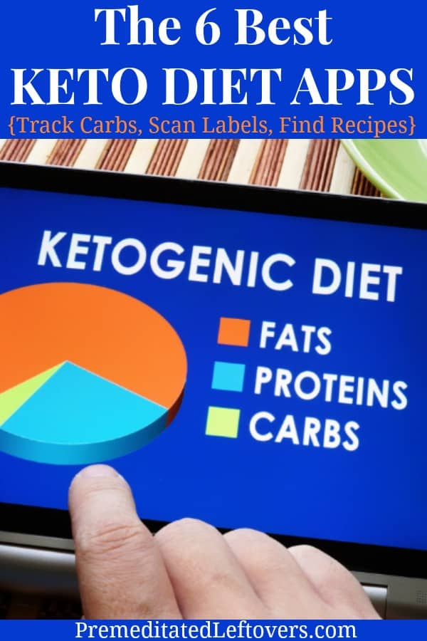 The 6 best ketogenic diet apps to help you count carbs, track macros, find keto recipes, meal plan, scan packages for nutritional information, and meet your keto diet goals.