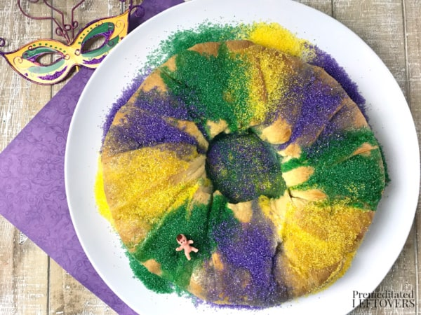 crescent roll king cake recipe