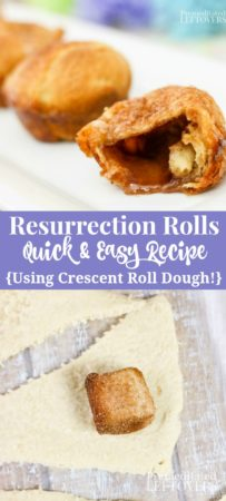 Easy Resuurection Rolls recipe - a fun Easter activity to do with kids!