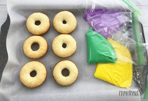 mardi gras cake donuts ingredients