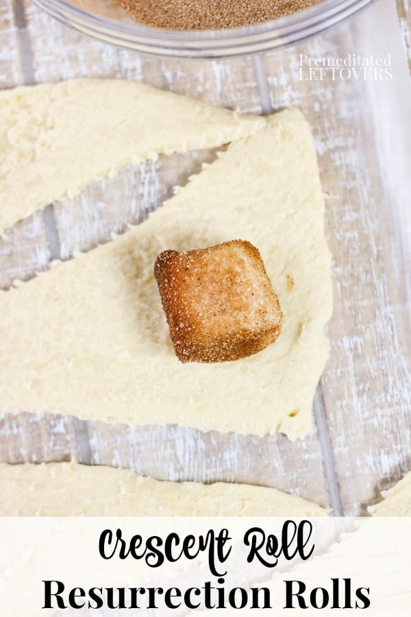 Resurrection rolls recipe using crescent rolls