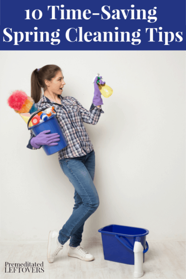10 Time-Saving Spring Cleaning Tips