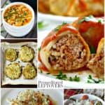 Cabbage recipes including cabbage rolls, cabbage soup, and corned beef casserole