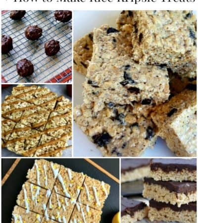 Rice Krispie treat recipes