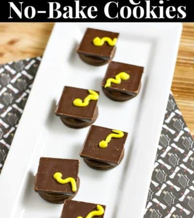 graduation cookies no-bake treat - an easy graduation dessert idea
