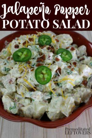 Jalapeño Popper Potato Salad Recipe