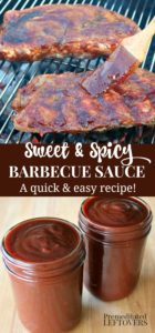 A easy homemade bbq recipe that is both sweet and spicy.