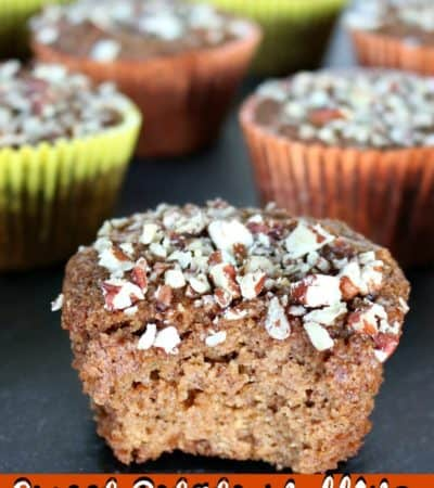 Grain-free Sweet Potato Muffins with Chai Spices