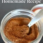 This chai spice recipe is perfect or baking, coffee, tea, smoothies, and more!