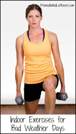 Indoor exercise for when you are stuck at home