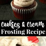 how to make cookies and cream frosting