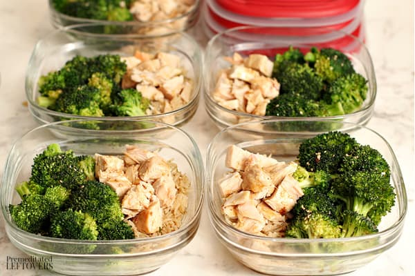 Meal Prep Asian Chicken Rice Bowls