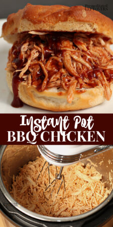 pulled bbq chicken in an instant pot